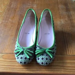 Size 38 kitten heel, tweed